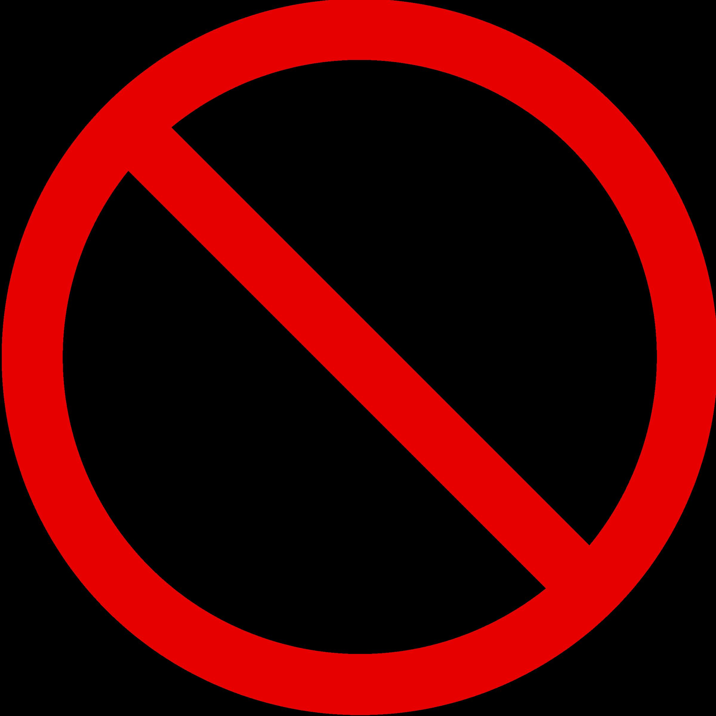 forbudsskilte logo