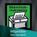 Miljøskilte non-standard