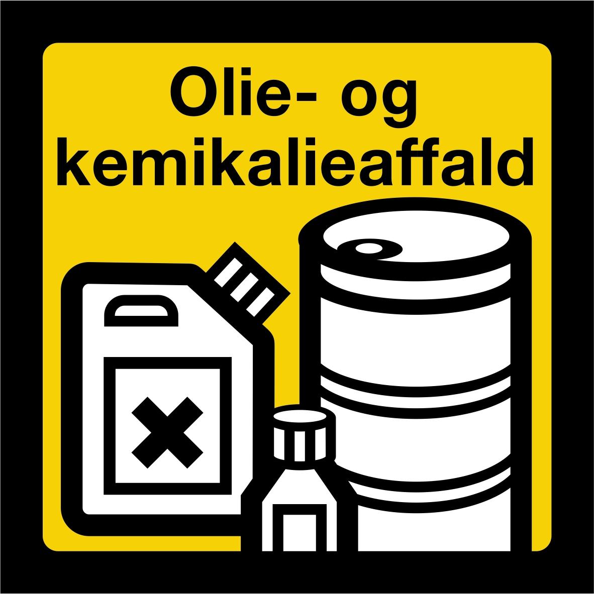Olie og kemikalieaffald