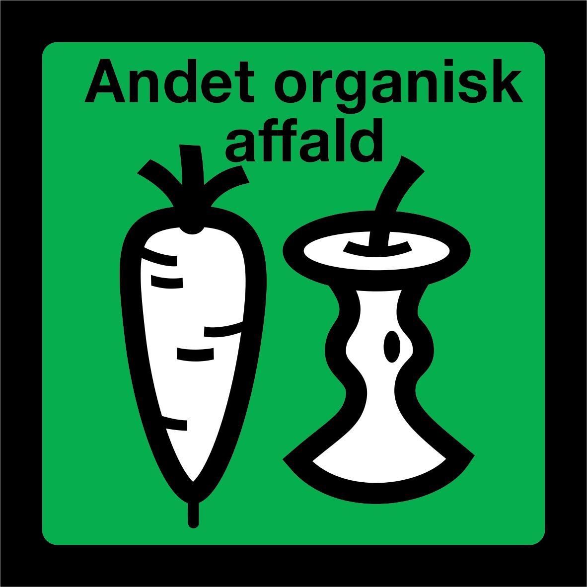 Andet organisk affald