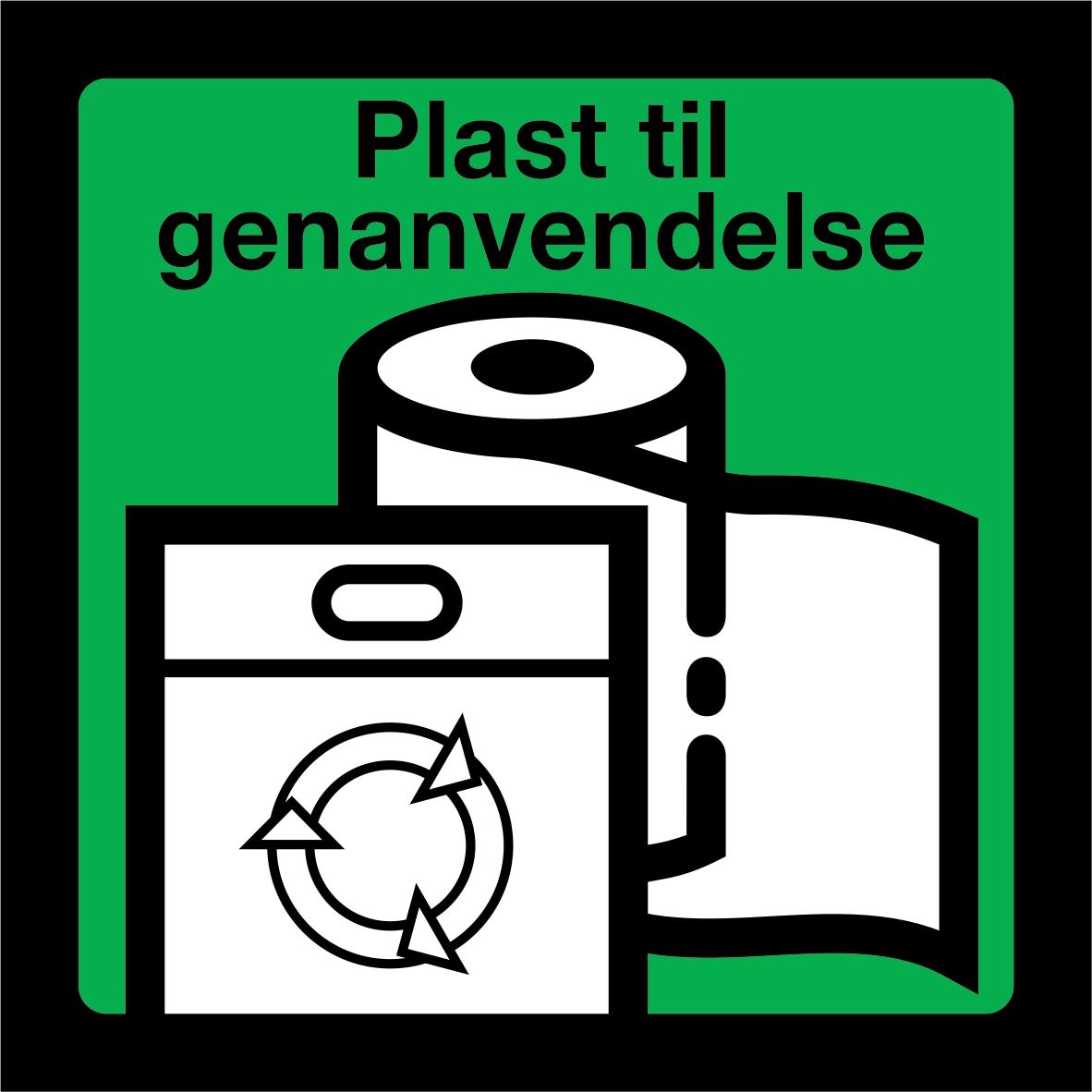 Plast til genanvendelse