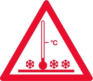 Advarsel! Høj temperatur